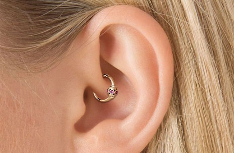 piercing daith at home